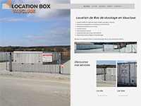 location de box vaucluse